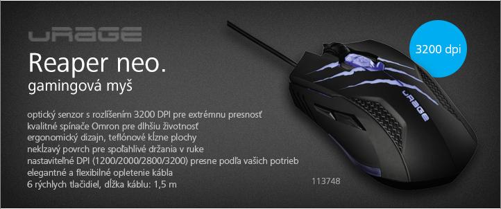URage gamingová myš Reaper neo