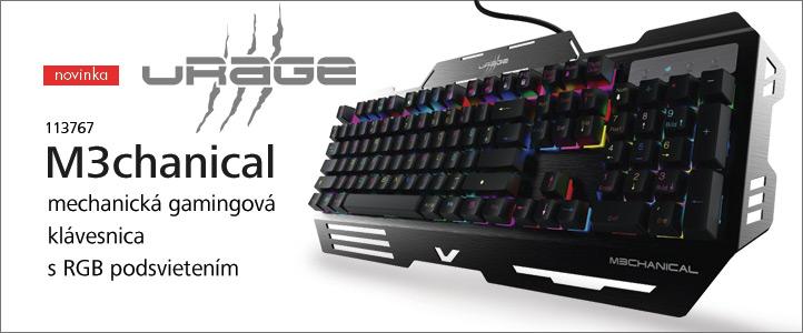 URage mechanická gamingová klávesnica M3chanical