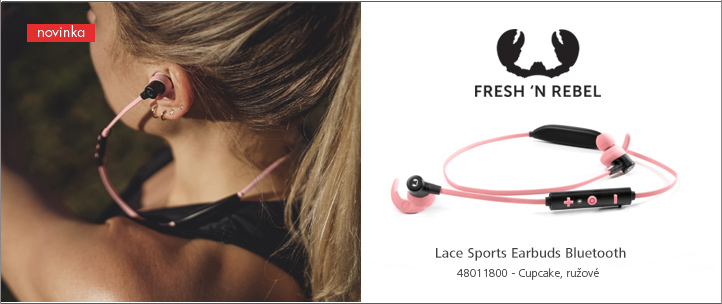 FRESH ´N REBEL Lace Sports Earbuds Bluetooth slúchadlá