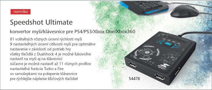 "Hama konvertor pre myš/klávesnicu Speedshot Ultimat"""