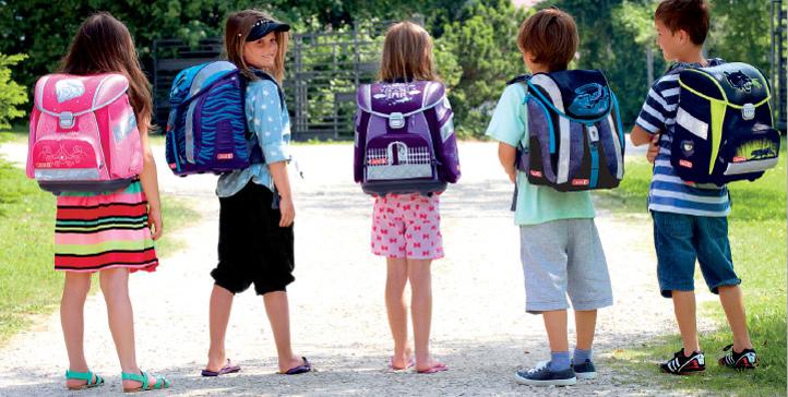 Školské tašky, školské potreby a doplnky