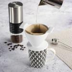 Xavax porcelánový filter na kávu (dripper), veľkosť 2, biely