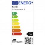 Xavax halogénová žiarovka, G4, 12 V/20 W, kapsľa, teplá biela, 2 ks