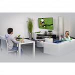 Hama nástenný držiak TV, pohyblivý (2 ramená), 200x200,1*