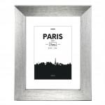 Hama rámček plastový PARIS, strieborná, 13x18 cm