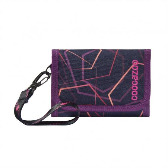 Peňaženka coocazoo AnyPenny, Laserbeam Plum