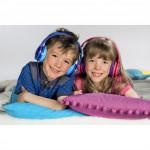 Hama detské slúchadlá Kids LED, uzavreté, ružové