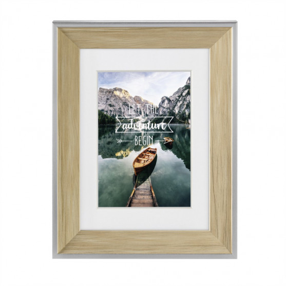 Hama rámček plastový SIERRA, prírodná, 40x50 cm