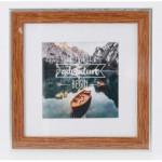 Hama rámček plastový SIERRA, orech, 20x20 cm