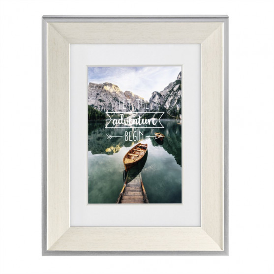 Hama rámček plastový SIERRA, biela, 40x50 cm