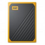 My Passport Go SSD, USB 3.0, 2 TB, čierna/žltá