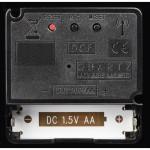 Hama PG-300, nástenné hodiny riadené rádiovým signálom, strieborné