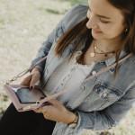 Hama Cross-Body taštička, na mobil, univerzálna, ružová