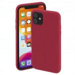 Hama Finest Feel, kryt pre Apple iPhone 11, červený