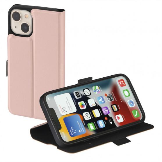 Hama Single 2.0, otváracie puzdro pre Apple iPhone 13, ružové