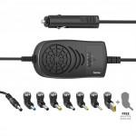 Hama univerzálny napájací adaptér pre notebook do auta, 15-24 V, 120 W