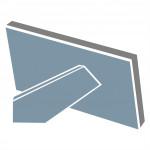 Hama rámček plastový MADRID, biely, 15x20cm