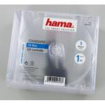 Hama náhradný cd obal, priehľadný, 5 ks