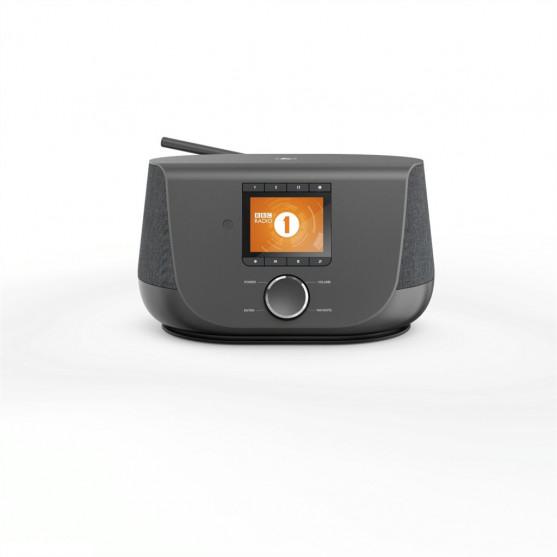 Hama digitálne rádio DIR3300SBT, FM/DAB/DAB+/internetové rádio/ovládanie aplikáciou, Bluetooth, čier